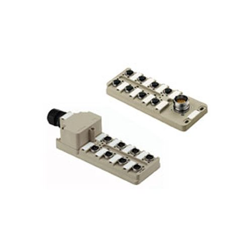 M5 / M8 / M12 Connectors-Buy sensor actuator interfaces circular connectors, m12 distribution block