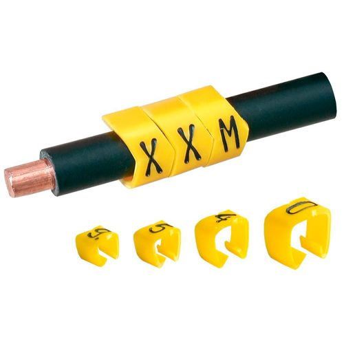 Wire-Cable Markers, Cable marker tags, cable marker ferrule, Wrap around cable labels