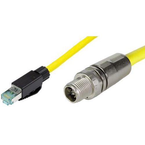 RJ45 / M12- Industrial Ethernet Cables, Ethernet connector cables